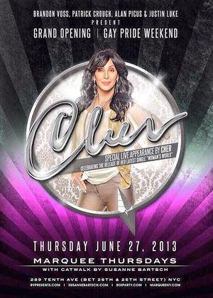 Cher Gay Pride