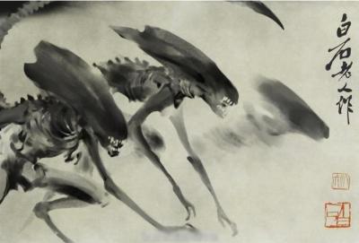 Sumi-aliens