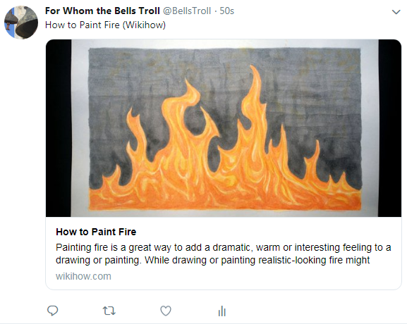 Paint-fire